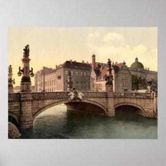 Kaiser Wilhelms Bridge, Berlin, archival print