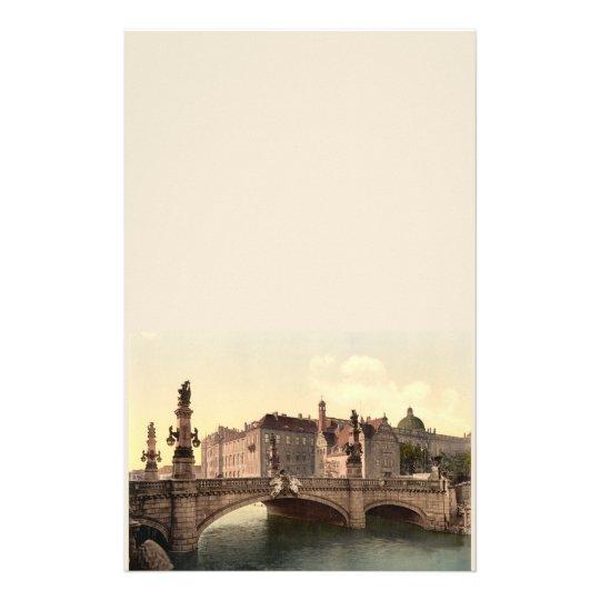 Kaiser Wilhelms Bridge, Berlin, Germany Stationery