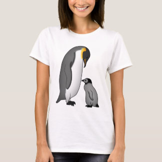 Kaiserpinguin with baby T-Shirt
