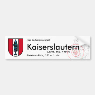 Kaiserslautern 1 bumper sticker