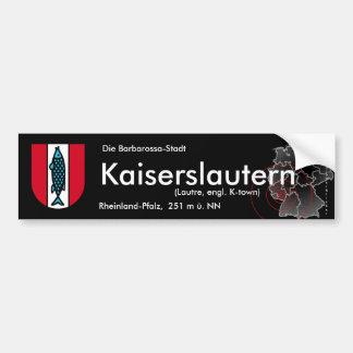 Kaiserslautern 3 bumper sticker