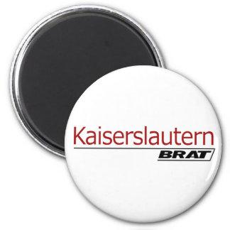 Kaiserslautern Brat -A001 2 Inch Round Magnet