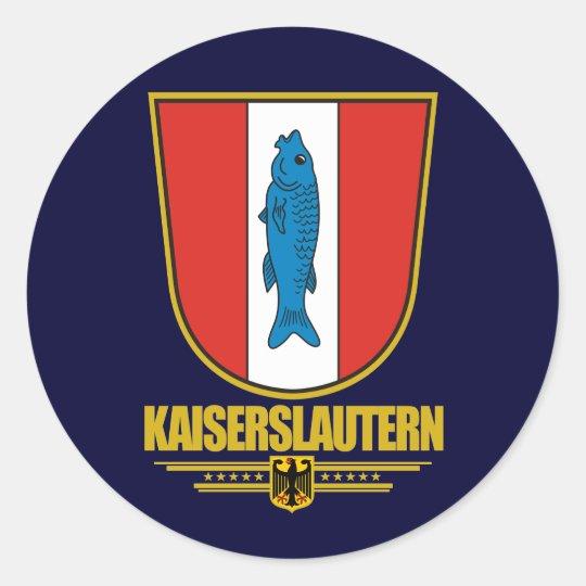 Kaiserslautern Classic Round Sticker