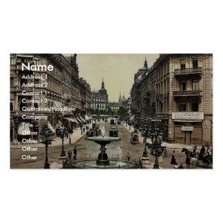 Kaiserstrasse, Frankfort on Main (i.e. Frankfurt a Business Card Templates