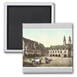 Kaiserworth y ayuntamiento, Goslar, Hartz, Alemani Imán Cuadrado