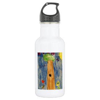 Kaitlyn Art1583a1 Tree The MUSEUM Zazzle Stainless Steel Water Bottle