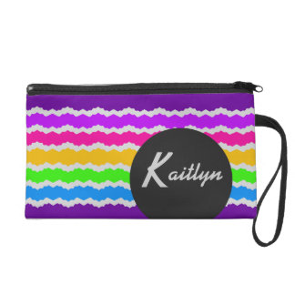 Kaitlyn Customizable Stripes Bagettes Bag