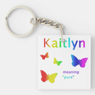 Kaitlyn Gifts Personalized Name Keychain
