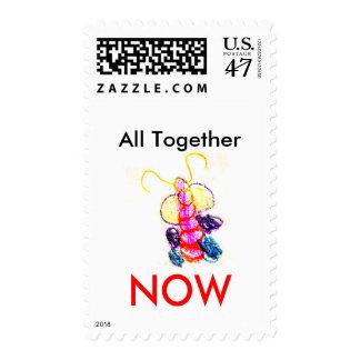 Kaitlyn's Caterpillar Stamp