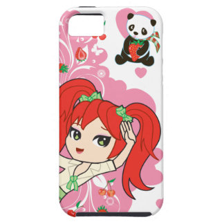 Kaiwaii Coco the School Girl Chibi iPhone4 iPhone 5 Cases