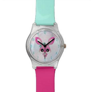 Kaiya el conejo relojes de pulsera