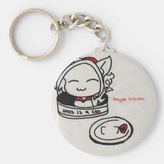 Kaiya in a can keychain