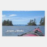 Kajak Alaska Pegatinas