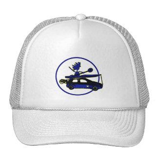 Kajak, bici, coche en azul gorros bordados