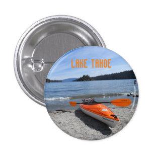 Kajak del lago Tahoe Pin Redondo De 1 Pulgada