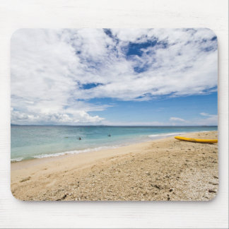 Kajak en la isla de mar del sur, Fiji Tapete De Ratón