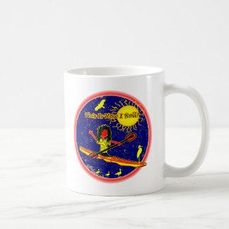 ¡Kajak - éste es cómo ruedo! Taza De Café