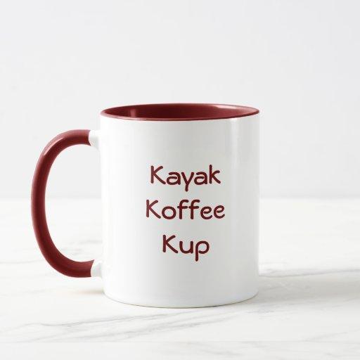 Kajak Koffee Kup Taza