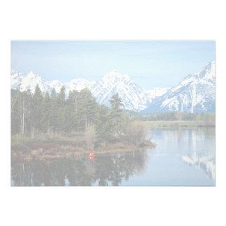 Kajak rojo parque nacional magnífico de Teton lo Invitación