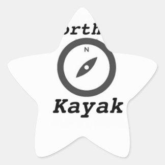 kajak septentrional copy.jpg pegatina en forma de estrella