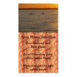 Kajaks del mar tarjetas de visita