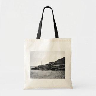 Kajaks en la isla de Nunivak Bolsas