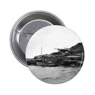 Kajaks en la isla de Nunivak Pin