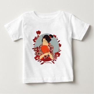 Kaji of Gion Holding a Fan Baby T-Shirt
