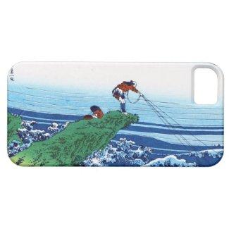 Kajikazawa in Kai province Hokusai Katsushika iPhone 5 Case
