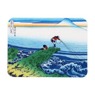 Kajikazawa in Kai province Hokusai Katsushika Rectangular Photo Magnet