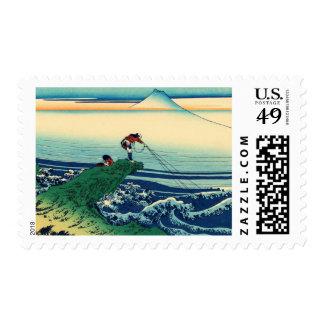Kajikazawa in Kai Province Postage Stamp