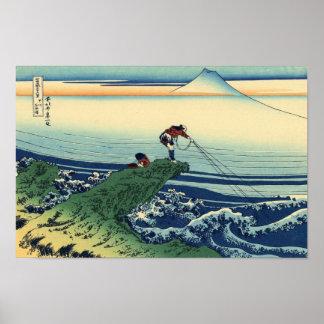 Kajikazawa in Kai Province Poster