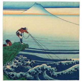 Kajikazawa in Kai Province Printed Napkin