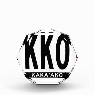 Kakaako-Sticker Acrylic Award