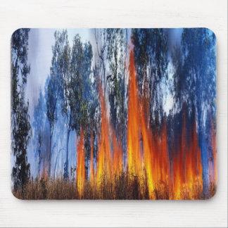 Kakado National Park fire, mousepad