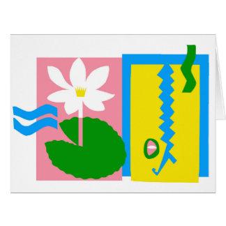 Kakadu - Large Greeting Card