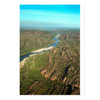 Kakadu National Park aerial East Alligator River Postcard