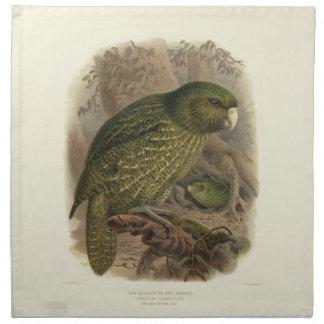 Kakapo Cloth Napkins