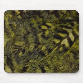 kakapo plumage mouse pad