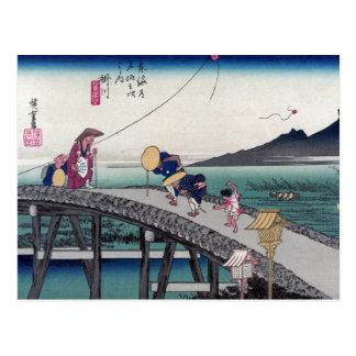 Kakegawa Ando Hiroshige Postcards
