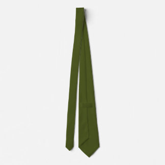 Kaki Green Background Color Customize This Neck Tie