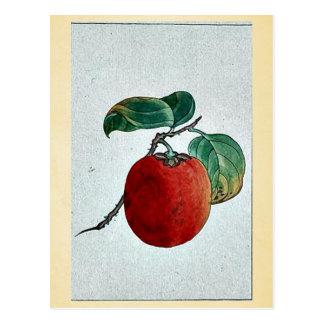 Kaki persimmon Ukiyo-e Postcard