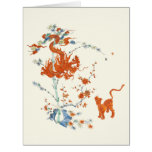 Kakiemon Dragon Tiger 1775 Card at Zazzle