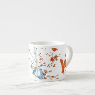 Kakiemon Dragon Tiger 1775 Espresso Cup