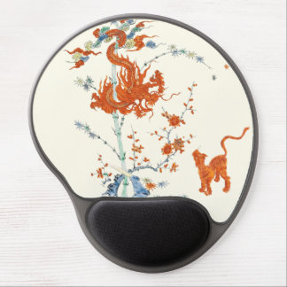 Kakiemon Dragon Tiger 1775 Gel Mouse Pad
