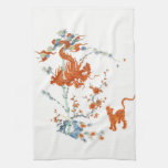 Kakiemon Dragon Tiger 1775 Hand Towel at Zazzle