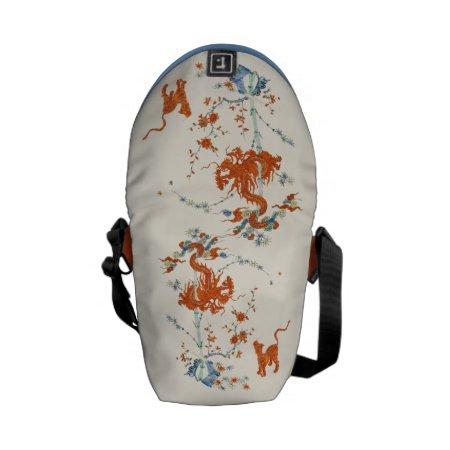 Kakiemon Dragon Tiger 1775 Mini Courier Bag