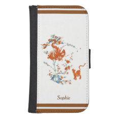 Kakiemon Dragon Tiger 1775 Phone Wallet at Zazzle