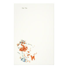 Kakiemon Dragon Tiger 1775 Stationery at Zazzle
