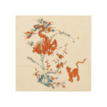 Kakiemon Dragon Tiger 1775 Wood Wall Art at Zazzle